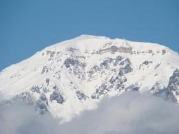 PanoramioPhoto of Snowy Mountain Top 1782