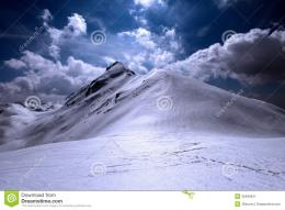 Snowy And Shiny Mountain Top Royalty Free Stock PhotographyImage 1766