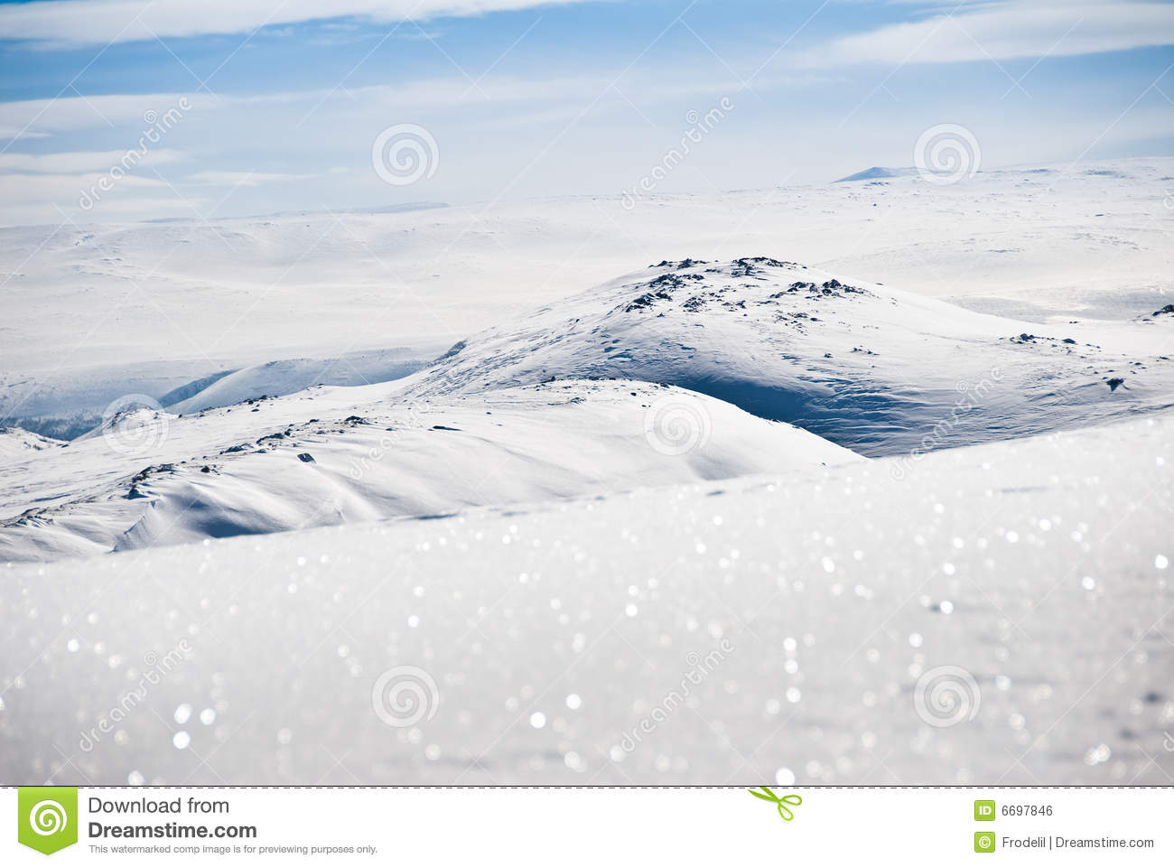 Snowy Mountain Top Royalty Free Stock ImageImage: 6697846 731