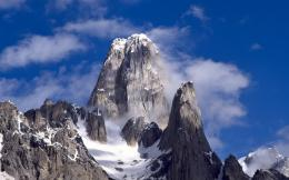 Snow on mountain top nature wallpaper1440x900 resolutionMy Earth 889