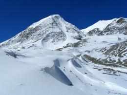 This is actually on top of the glacier, in its lower, less steep part 228