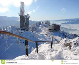 Snowy mountains in Poiana Brasov, Romania, winter time 168