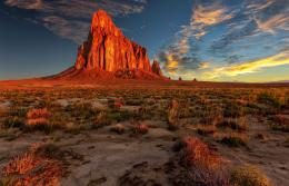 Wallpaper new mexico, desert, rock, nature, landscape wallpapers 1923