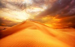 sunrise sand landscape clouds nature desert sky dune wallpaper 841