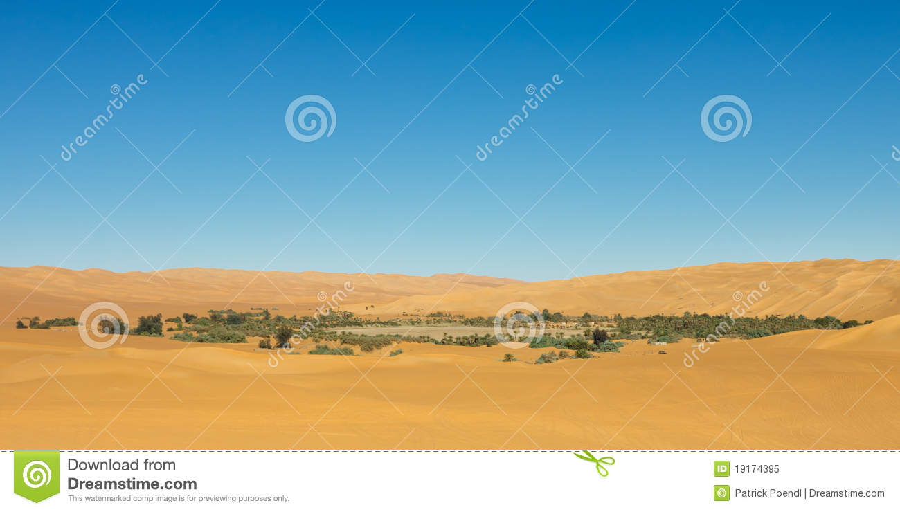 MandaraIdyllic oasis in the Awbari Sand Sea, Sahara Desert, Libya 1003