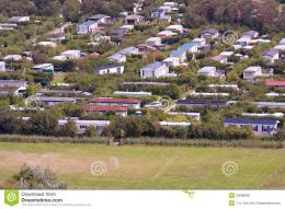 Aerial View Of A Dutch Bungalow Park Royalty Free Stock ImagesImage 758