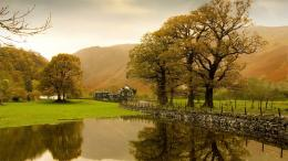 English countryside wallpaper 753