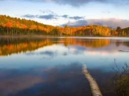 Download Peaceful lake in autumn wallpaper in Nature wallpapers with 1659