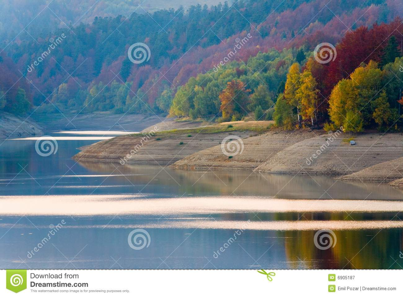 Peaceful Lake In Autumn Royalty Free Stock PhotographyImage 1696
