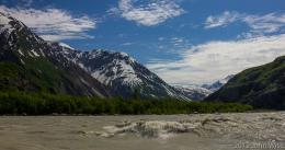 Alsek River in Tatsheshini Alsek Provincial Park in British Columbia 649