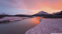 River British Columbia Canada Wallpaper 1920x1080 Sunset, Alsek, River 559