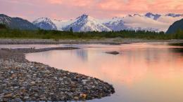 Alsek river valley alaska landscape water ultraXhd Wallpaper 1884