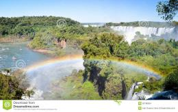 Rainbow And Falls Stock PhotoImage: 63180824 1044