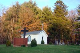 The Little White Chapel on the Hill | Gypsy Road Trip 1865