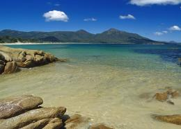 Big Rocks on The Beach WallpaperSea and beach Wallpaper 1823