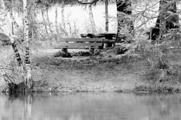 The Eternal Love Seat In The Lake :by zetsuPTpt on deviantART 761