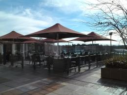 is the deck restaurant and café the next scenic coffee spot on this 1321