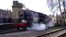 WORTH VALLEY RAILWAY WINTER STEAM SPECTACULAR 2014 08 03 2014 PART 133