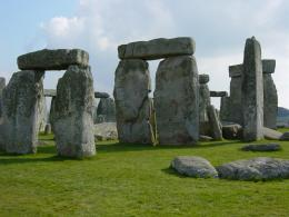 World Visits: Stonehenge In Southern England 1577