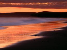Sunset Over Limantour Beach and Drakes Bay MariBeaches Rivers 747