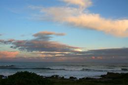 PanoramioPhoto of Sunset over the beach East London 402