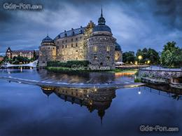 wallpaper Orebro castle, Orebro, Sweden free desktop wallpaper 1038