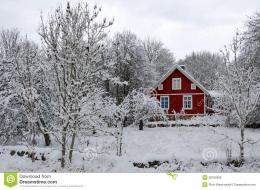 Swedish Winter Contrasts Royalty Free Stock ImagesImage: 28162899 525