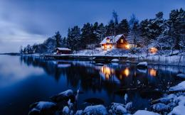 Sweden Stockholm Winter HD Wallpaper 748