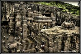 Photograph An HDR: Kaisahnath Temple, Ellora by Ayan Das on 500px 436