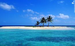 Wallpaper sandy lonely beach fantasy island images 131898 1453