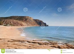 Royalty Free Stock Photos: The beach on the rocky coast 1359