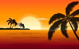 trees sunset wallpapers palm trees sunset wallpapers palm trees sunset 1903