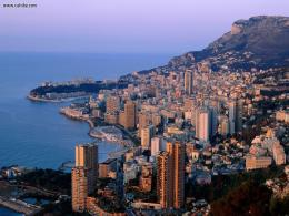 Twilight Over Monte Carlo MonacoBuildings & City 760