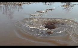 Whirlpool Video: Vortex In Latvian River Devours All That Enters 123