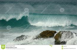 Waves Breaking On Rocks Stock ImageImage: 5006721 699