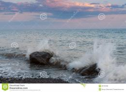 Waves Breaking On Coastal RocksRoyalty Free Stock ImagesImage 869