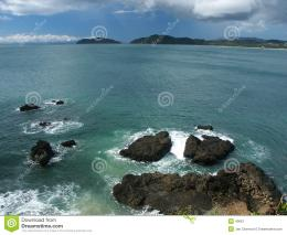 Waves Breaking On Giant Rocks Stock ImageImage: 40661 642