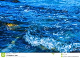 Waves Breaking On The Rocks Stock PhotoImage: 49440158 1512