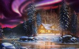 Winter Landscape | Wallpapers Design 1061