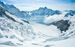 Wonderful Snow Mountains Foggy wallpapers | Wonderful Snow Mountains 489