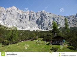 Wonderful Mountains In Austria Stock PhotoImage: 14970030 1775