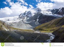 Wonderful Tien Shan Mountains Stock ImagesImage: 35711064 238