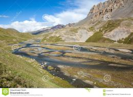 Wonderful Mountain River In Tien Shan Mountains Stock ImagesImage 1943