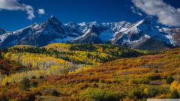 Wonderful mountain landscape in Aspen wallpaper 167