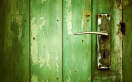 Green Wood Wallpaper 1680x1050 Green, Wood, Grunge, Door 841