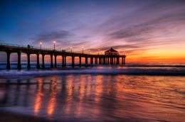 Sunset at Manhattan Beach Pier 945