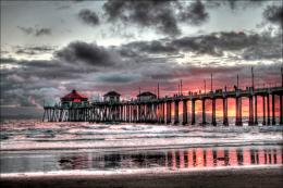 Favorite #2 Huntington Beach Pier: An amazing sunset in California in 844