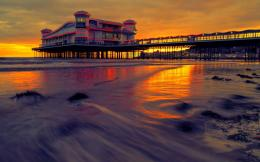 pier hotel sunset high defintion wallpaper download sunset photo 420