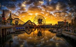 Paradise Pier Sunset California | 1440 x 900 | Download | Close 705