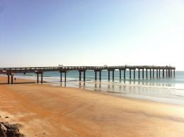 Update on the Beach renovations at the StAugustine Beach Pier 1308